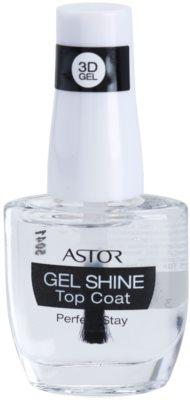 Astor Perfect Stay 3D Gel Shine verniz de cobertura protetor para dar brilho