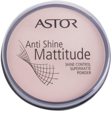 Astor Mattitude Anti Shine mattosító púder
