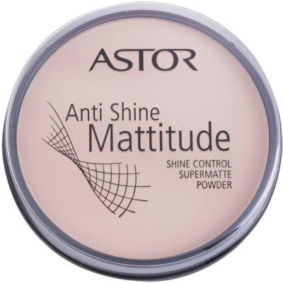 Astor Mattitude Anti Shine pó matificante