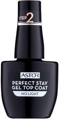 Astor Perfect Stay Gel Top Coat gel nadlak za nohte brez uporabe UV/LED lučke