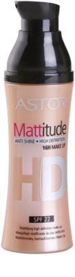 Astor Mattitude High Definition matirajoči tekoči puder 1