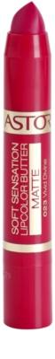 Astor Soft Sensation Lipcolor Butter Mattierender Lippenstift