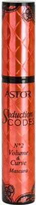 Astor Seduction Codes Volumen-Mascara für geschwungene Wimpern 1