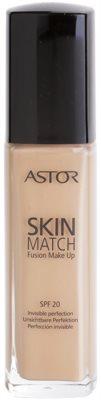Astor SkinMatch Make-Up für ein natürliches Aussehen