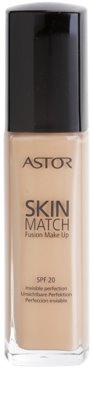 Astor SkinMatch tekoči puder za naraven videz