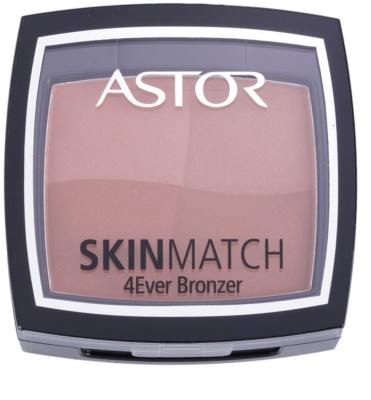 Astor SkinMatch pudra  bronzanta 3