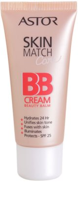 Astor SkinMatch Care feuchtigkeitsspendende BB Creme 5 in 1