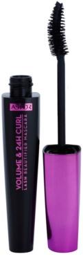Astor Lash Beautifier Volume & 24H Curl спирала с дълготраен ефект за обем и извити мигли