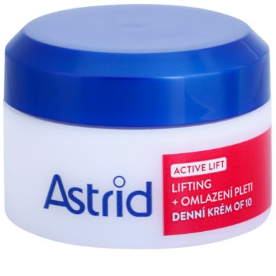 Astrid Active Lift liftinges bőrkisimító nappali krém SPF 10