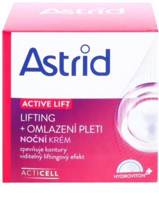 Astrid Active Lift pomlajevalna lifting nočna krema 2