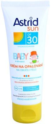 Astrid Sun Baby детски крем за слънчеви бани SPF 30