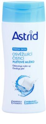 Astrid Fresh Skin osvežilno čistilno mleko za normalno do mešano kožo