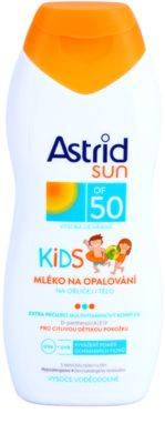 Astrid Sun Kids дитяче молочко для засмаги SPF 50