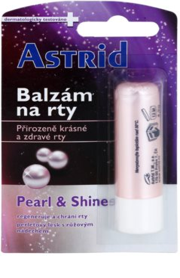 Astrid Lip Care Pearl & Shine Lippenbalsam mit perlmutternem Glanz