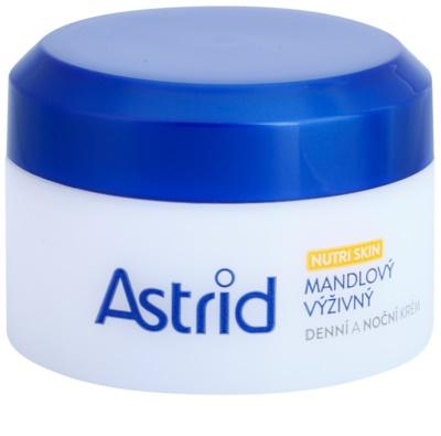 Astrid Nutri Skin бадемов подхранващ дневен и нощен крем за суха или много суха кожа