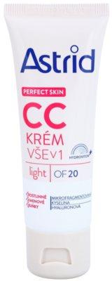 Astrid Perfect Skin CC крем SPF 20