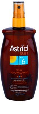 Astrid Sun napozó olaj spray -ben SPF 6