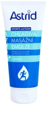 Astrid Sports Action emulsión de masaje refrescante
