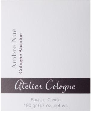 Atelier Cologne Ambre Nue vonná sviečka 3