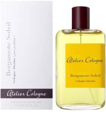 Atelier Cologne Bergamote Soleil perfumy unisex