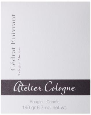 Atelier Cologne Cedrat Enivrant vonná svíčka 3