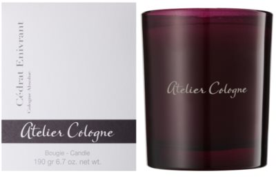 Atelier Cologne Cedrat Enivrant lumanari parfumate