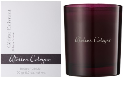 Atelier Cologne Cedrat Enivrant vonná sviečka