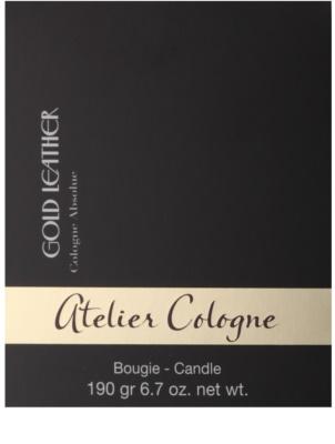 Atelier Cologne Gold Leather ароматна свещ 3