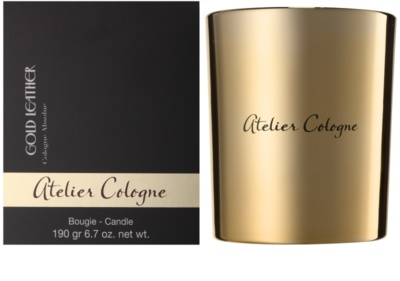 Atelier Cologne Gold Leather vela perfumada