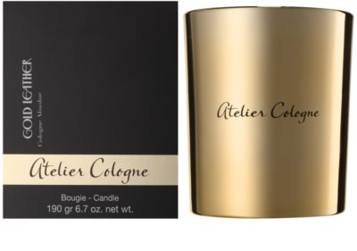 Atelier Cologne Gold Leather vonná svíčka