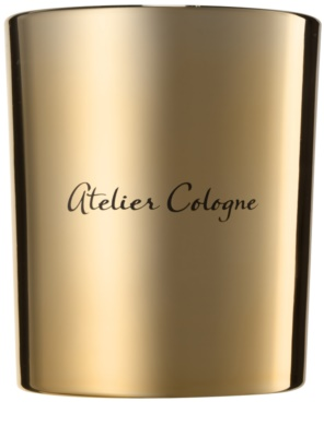 Atelier Cologne Gold Leather vela perfumada 1