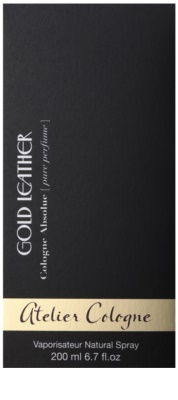 Atelier Cologne Gold Leather Parfüm unisex 4