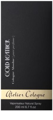 Atelier Cologne Gold Leather perfume unisex 4