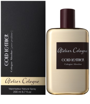 Atelier Cologne Gold Leather perfume unissexo