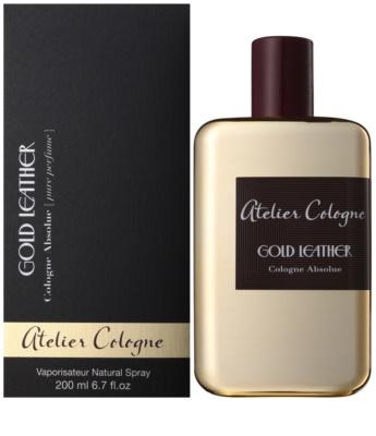 Atelier Cologne Gold Leather парфюм унисекс