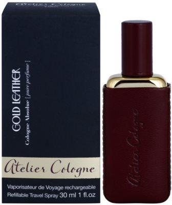 Atelier Cologne Gold Leather coffrets presente