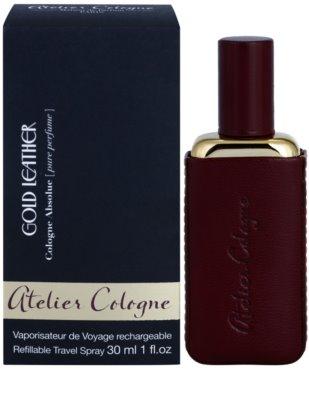 Atelier Cologne Gold Leather dárkové sady