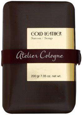 Atelier Cologne Gold Leather parfümös szappan unisex