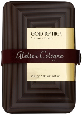 Atelier Cologne Gold Leather парфюмиран сапун унисекс