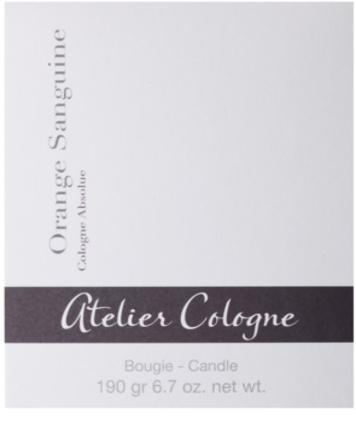 Atelier Cologne Orange Sanguine ароматизована свічка 3