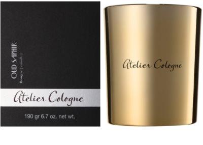 Atelier Cologne Oud Saphir lumanari parfumate