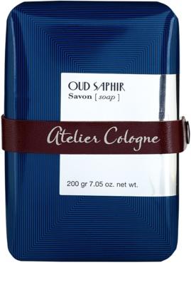 Atelier Cologne Oud Saphir parfümös szappan unisex
