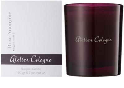 Atelier Cologne Rose Anonyme vonná sviečka