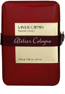 Atelier Cologne Santal Carmin parfümös szappan unisex