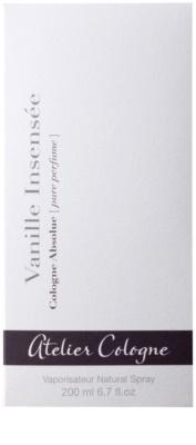 Atelier Cologne Vanille Insensee parfém unisex 4