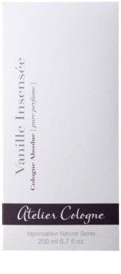 Atelier Cologne Vanille Insensee Parfüm unisex 4