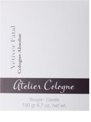 Atelier Cologne Vetiver Fatal ароматна свещ 3