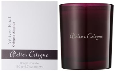 Atelier Cologne Vetiver Fatal lumanari parfumate