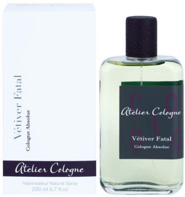 Atelier Cologne Vetiver Fatal perfume unissexo
