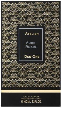 Atelier des Ors Aube Rubis Eau de Parfum unissexo 4